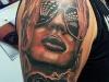 biker_girl_tattoo_motorcycle_sunglasses