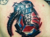 boxer_grenade_tattoo_abstract_trash_boxgrenade_glove_boxhandschuh_boxer_ingo_wirths_el_color_solido
