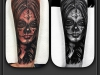 la_catrina_tattoo_day_of_the_dead_girl_chicano_realistic_freehand_el_color_solido_ingo_wirths