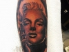 marylin_monroe_portrait_tattoo_realistic_el_color_solido