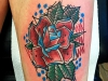 rose_tattoo_abstract_trash_leaves_colour_el_color_solido_ingo_wirths