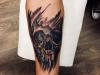skull_tattoo_schaedel_totenkopf_realistic_arm_blackwork_el_color_solido_lohmar_ingo_wirths.jpg